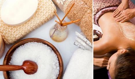 Кокосовое обертывание или обертывание кокосовым маслом в салоне Галерея красоты